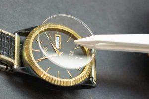 watch crystal repair